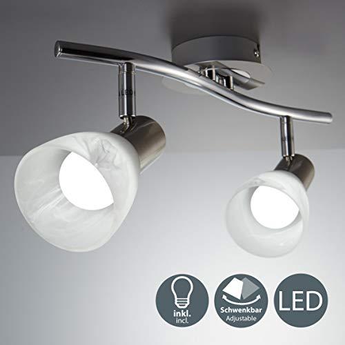 Lámpara LED techo I Focos giratorios I Lámpara techo