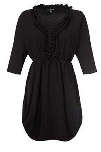 Maglietta a maniche lunghe di Apart–Colore Nero Nero