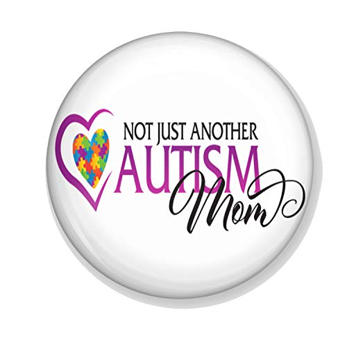 """Gifts & Gadgets Co. Magnet-Flaschenöffner\""""Not Just Another Autism Mom\"""", rund, 58 mm"""