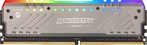 Ballistix Tactical Tracer BLT8G4D30BET4K 8GB Gamingspeicher (DDR4, 3000 MT/s, PC4-24000, DRx8, DIMM, 288-Pin, RGB)