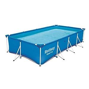 Bestway 56405 – Piscina Desmontable Tubular Infantil Family Splash Frame Pool 400x211x81 cm