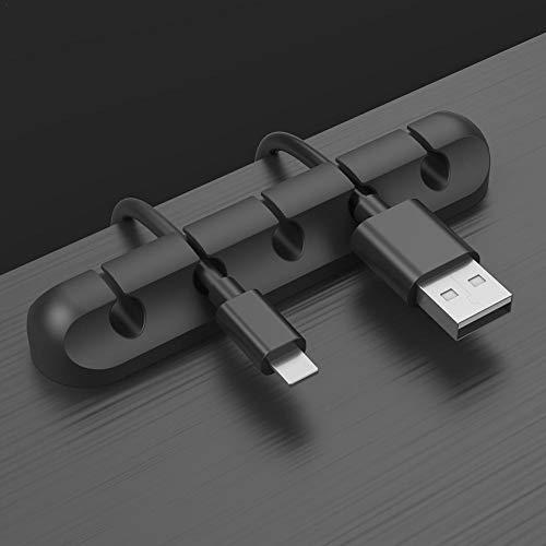 5-10 PEZZI Cavo Morsetto Clip Cavo autoadesivo cavo fissaggio supporto Ø 10mm