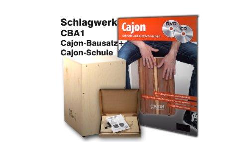 SCHLAGWERK CBA1 Cajon-Bausatz + CAJON-SCHULE inkl. CD & DVD!!!!!