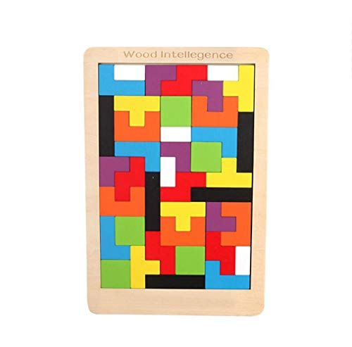 aw Board Spielzeug Kinder Puzzle Spielzeug Tetris Spiel Pädagogisches Kind Spielzeug Geschenke ()