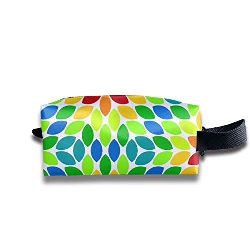 05620781 R6R Objektiv 4 Rainbow_7318 Tragbare Reise Make-up Kosmetiktaschen Organizer Multifunktions Tasche Taschen für Unisex