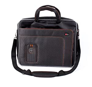 """DURAGADGET """"Travel"""" Deluxe Lightweight & Hardwearing Briefcase Bag With Multiple Compartments & Padded Shoulder Strap For 15.6 Inch Laptops"""