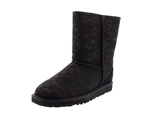 UGG CLASSIC SHORT ANTOINETTE Stiefel 2016 mnl Black