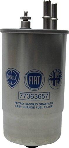 Filtro-Gasolio-13-Multijet-ORIGINALE-FIAT-ALFA-LANCIA-Codice-77363657-equivalente-24ONE01-UFI-per-ALFA-ROMEO-159-19-JTDM-16V-Periodo-09-2005-11-2011-1910cc-150CV-110kW