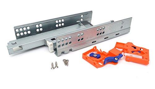 Full-erweiterung (250mm Push to Open unsichtbar unter MOUNTING Schublade Läufer (Full Erweiterung))