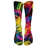 Perfect Gifts - Big Jack Flag Print Stockings Breathable Hiking Socks Classics Socks For Women Teens Girls Unisex