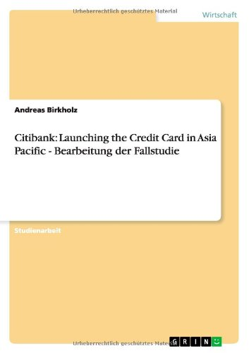 citibank-launching-the-credit-card-in-asia-pacific-bearbeitung-der-fallstudie