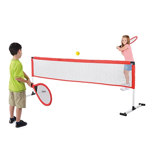 Toyrific Niños Juego de tenis raquetas de Incudes/pelotas y red