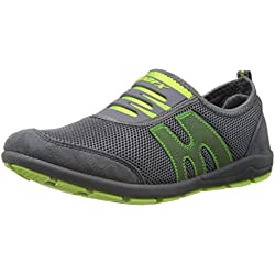 Sparx Women's Grey and Fl.Green Walking Shoes - 5 UK/India (38 EU) (SX0073L)