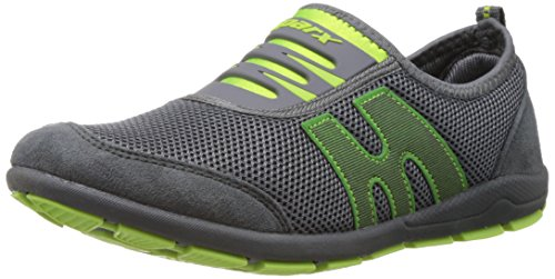 Sparx Women's Grey and Fl.Green Nordic Walking Shoes - 6 UK (SX0073L)