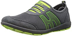 Sparx Womens Grey and Fl.Green Nordic Walking Shoes - 4 UK (SX0073L)