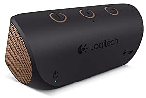 Logitech X300 Bluetooth Speakers (Black/Brown)