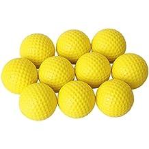 Dcolor 10 uds. La pelota de golf Entrenamiento suave espuma bolas del ejercicio