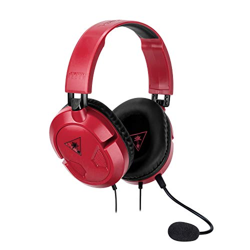 Turtle Beach Recon 50 Cuffie Gaming, Rosso - PC, Nintendo Switch, PS4 e Xbox One