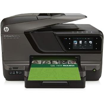 HP Officejet Pro 8600 Plus e-All-in-One Tintenstrahl Multifunktionsdrucker (A4, Drucker, Scanner, Kopierer, Fax, Dokumentenecht, Wlan, USB, 4800x1200)