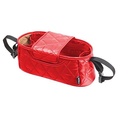 [Manito] Handy Stroller Organizer /Small Organizer Bag for Baby Stroller and Pram (Red)