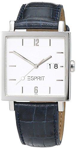 Esprit ES1E772.3329.486 - Reloj de Pulsera Hombre, Cuero, Color Negro