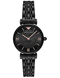 Emporio Armani Analog Black Dial Women's Watch-AR11245