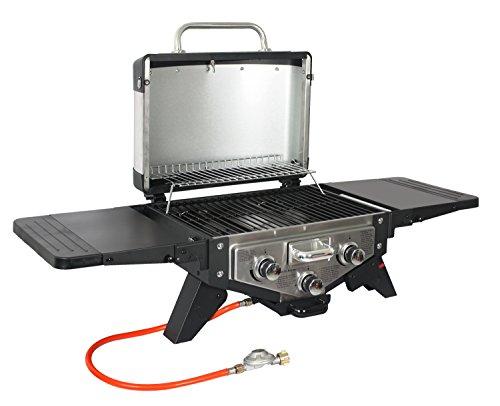 Guter Gasgrill Für Balkon : El fuego grill medison gasgrill mit 3 brennern in silber kompakter