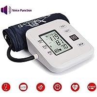 Monitor electrónico Inteligente de presión Arterial Brazo Superior Medidor de presión Arterial Sphygmomanometer.