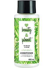 Love Beauty & Planet Tea Tree and Vetiver Aroma Radical Refresher Conditioner, 400 ml