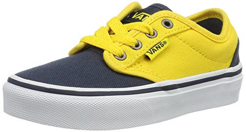 Vans Jungen YT Atwood Sneakers, Blau (2 Tone), 39 EU (Skateboard Sneakers Schuhe Vans)