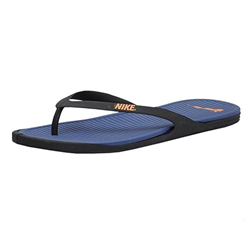 8e59665d9c5eb Nike 8907261654565 Mens Legend And Bright Citrus Blue Black Rubber Flip  Flops 7- Price in India
