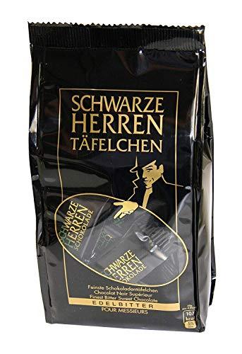 Stollwerk Schwarze Herren Täfelchen, 150 g - Herren Schokolade
