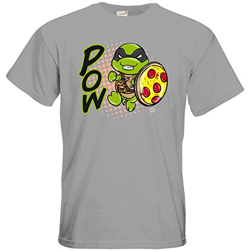 getshirts - Crapwaer - T-Shirt - Superhero - Toodles pacific grey
