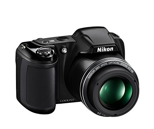 Nikon Coolpix L340 Digital Camera, Black