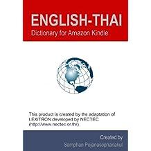 English-Thai Dictionary for Amazon Kindle (English Edition)