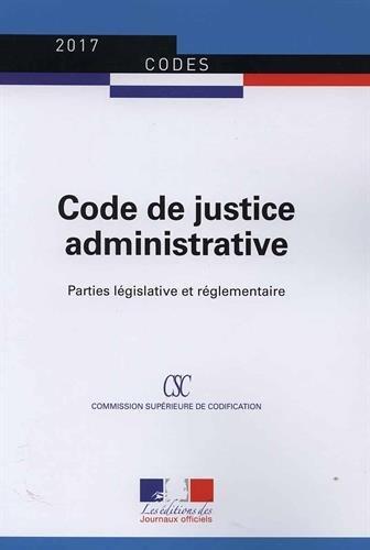 Code de justice administrative : Textes à jour au 22 septembre 2016