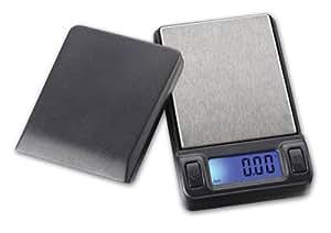 PROMOTION 50% DE REMISE - Balance electronique de poche pour pesage rapide et précis - Pesage au centieme de gramme - balance or carats bijoux pieces épices cosmetiques - Capacité :100g lecture 0.01g