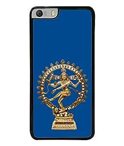 PrintVisa Designer Back Case Cover for Micromax Canvas Knight 2 E471 (The Natraj Idol In Blue Design)