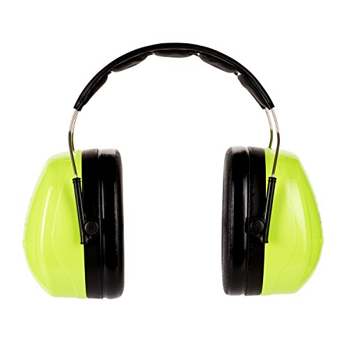 3M Peltor Optime III Kapselgehörschutz mit Kopfbügel, Hi-Viz, SNR 35 dB - 3
