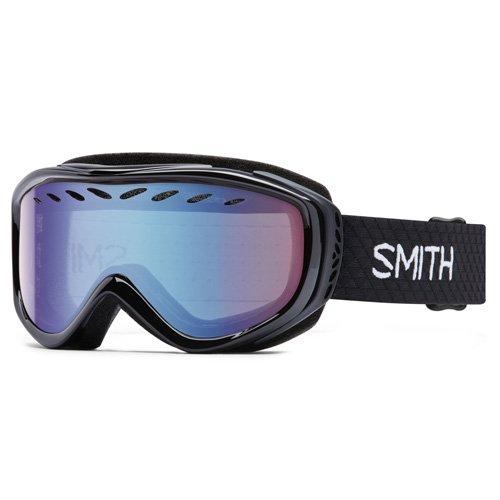 Smith Erwachsene Schneebrille Transit Pro Skibrille Blauer Sensor Mirror/Schwarz One Size