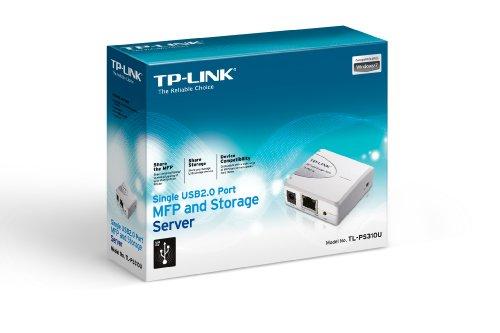 TP-Link TL-PS310U Serveur d'Impression 1 Port MFP USB 2.0 et Serveur de Stockage