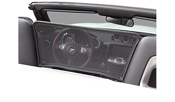 Aperta Windschott Passend Für Nissan 370z Z34 100 Passgenau Oem Qualität Schwarz Windstop Windabweiser Auto
