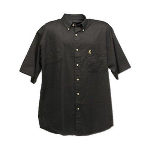 Browning Badger Creek Short Sleeve Shooting Shirt (Garment Washed Pocket T-shirt)