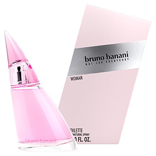 bruno banani Woman - Eau de Toilette Natural Spray - Blumig-fruchtiges Damen Parfüm - 1er Pack (1 x 60ml) (Rosa Parfum Frauen)