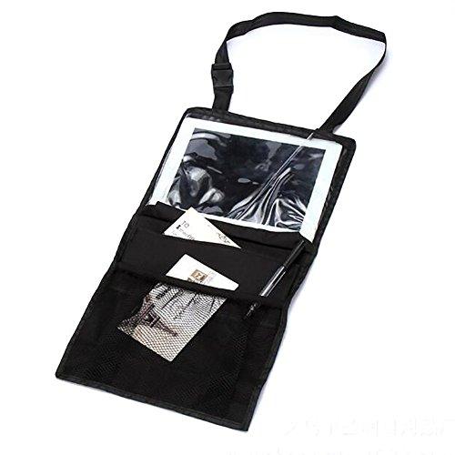 Preisvergleich Produktbild OurKosmos® Auto-Rücksitz -Organizer, Rücksitz -Auto-Organisator Multi-Taschen-Speicher-Reise mit Touch Screen iPad Halter, Geeignet für Reisezubehör Baby und Kinder Spielzeug-Speicher