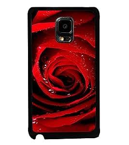 ifasho Designer Back Case Cover for Samsung Galaxy Note Edge :: Samsung Galaxy Note Edge N915Fy N915A N915T N915K/N915L/N915S N915G N915D (Mesua Ferrea Rose Deo Rose Underwear Manner Of SpeakingExp.)