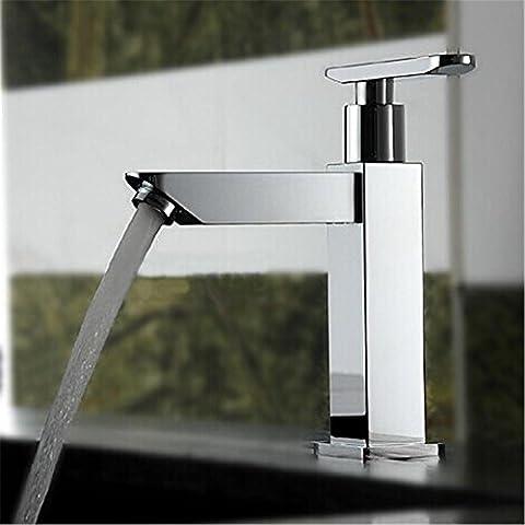 Modylee Acqua rubinetto singolo fredda bacino rubinetto Wash quadrato bagno rubinetti Torneira includono