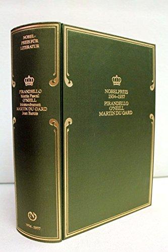 Nobelpreis für Literatur 1934 bis 1937