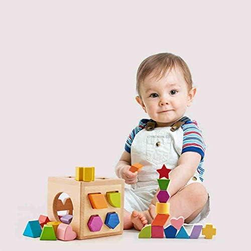 CMDDYY Blocs Blocs Blocs de Construction de Jouet d'enfants, Forme Correspondant bébé   Puzzle de l'éducation précoce Fille 1-2-3 Ans garçon,A | Bradées  89e976
