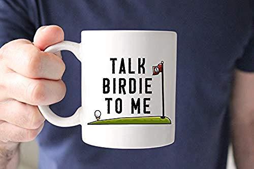 Charla Birdie to Me Mug Taza de golf Regalo para golfista Regalo de golf Regalo de golf Taza del día del padre Taza del día del padre Regalo del golf del golf Taza divertida taza 11 oz